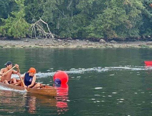 This weekend, War Canoe Races at Tsartlip.