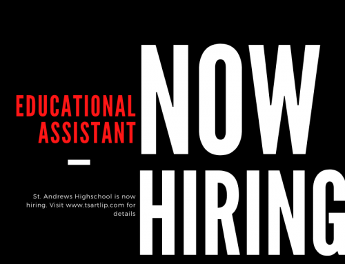 St. Andrews High School Is Hiring An Indigenous Educational Assistant